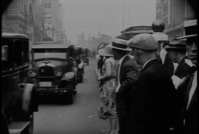 Newark Streets in 1926